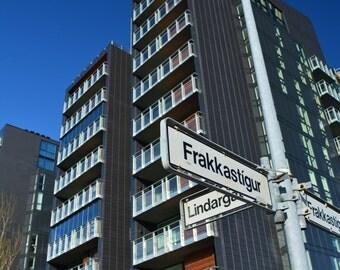 Meet Me at the Corner Of * Frakkastigur * Reykjavik Iceland * Unedited Photography * Travel Photography * Modern High-rise *