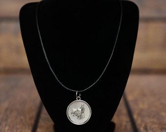 Great Dane, dog necklace, medallion, limited edition, extraordinary gift, ArtDog