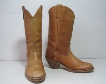 ACME DINGO Cowboy Western Boots Size: 7 D Women's Shoes VINTAGE