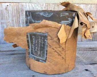 Vintage drug store pharmacy roll of store wrapping paper Jones-Vance Tenn