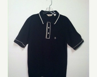 SALE - Vintage Penguin Two Toned Polo