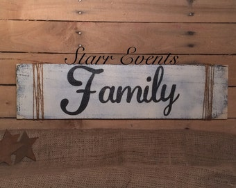 Family sign. Signs for home. Family signs. Primitive signs. Kitchen signs. Living room sign. Wooden signs Country sign farmhouse style signs