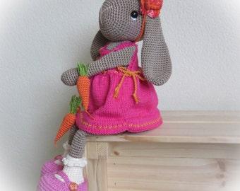 Crocheted bunny 'Willenein'