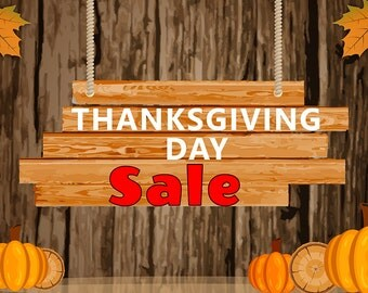 Thanks Giving Sale Banner 3 x  2 FT