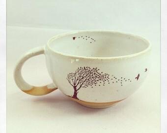 Take Flight Tea Cup