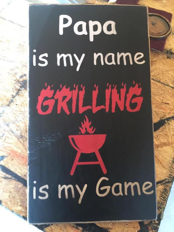 Hand Painted Man Cave Signs : Hand painted rustic wood sign man cave