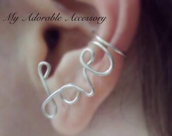 Love Wire Ear Cuff