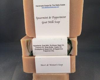 Spearmint & Peppermint Goat Milk Soap