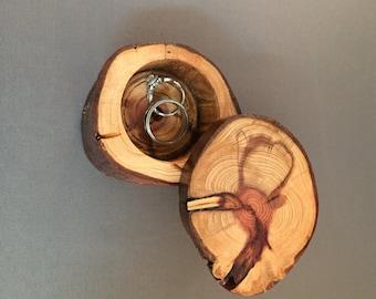 Redwood Ring Box Medium