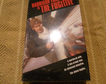 "Vintage 1993 VHS Movie "" The Fugitive"" /Never Opened"