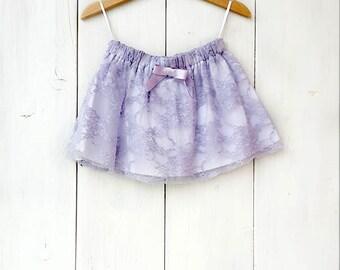 Toddler skirt, girl skirt, baby skirt, lace skirt, cotton skirt, cotton and lace baby skirt,cerimony