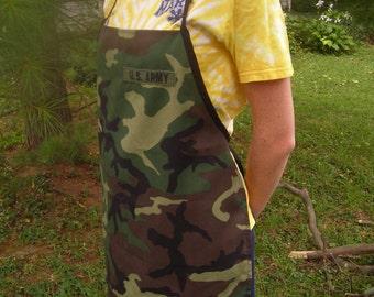 Army ACU Apron with USArmy tag