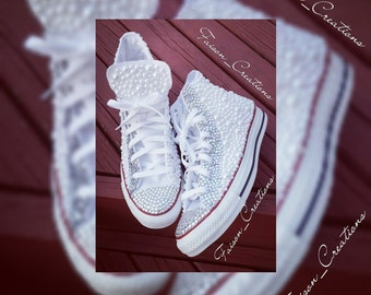 Adult Bling Custom Converse (High Top)