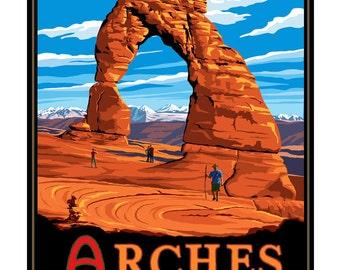 Arches National Park Print. 11x14 & 16x20 Giclee prints.
