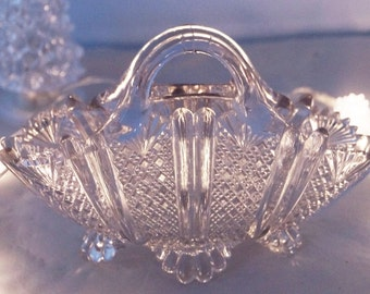 An exquisite pale lilac glass handbag, the perfect gift for anyone that just loves bags!