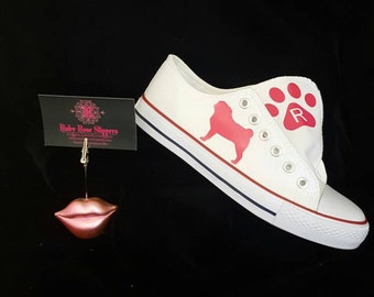 The Pugsters! Pugsley pug shoes