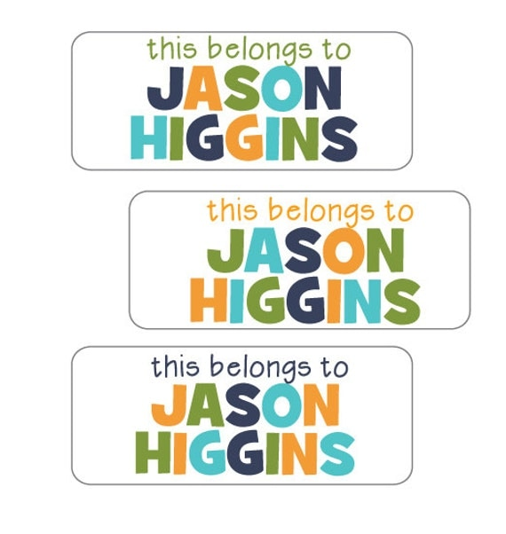 Description camp stickers for boys