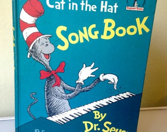 The Cat in the Hat Song Book by Dr. Seuss 1967 1st Edition HB