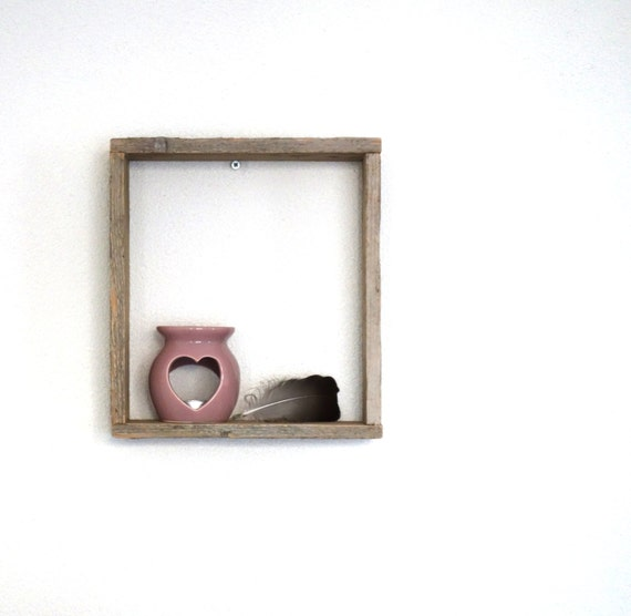 Items similar to wooden display small shelf decor wall for Shelf decor items