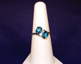 Blue Bypass Ring