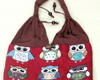 Shopping bag - owl - 4090