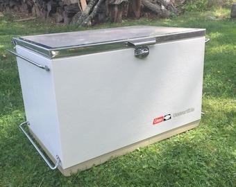 Vintage Coleman Convertible Cooler, Coleman Cooler, Coleman Icebox, Beer Cooler, Beverage Cooler, Camping Cooler, Coleman Collectible