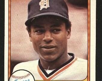 1981 Fleer Lou Whitaker #463