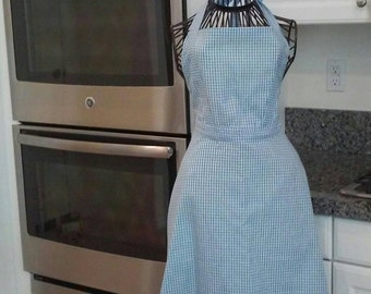 Women's Wizard of Oz inspired Dorothy apron size medium ready to ship