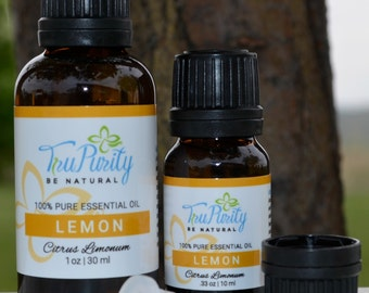 LEMON- 100% Pure Essential Oil