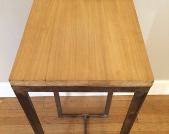 poplar plant stand or side table
