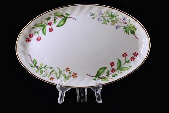 Small Oval Platter, Royal Kent England, Bone China