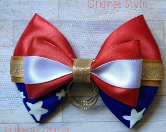 The Wonder Woman Inspired Bow