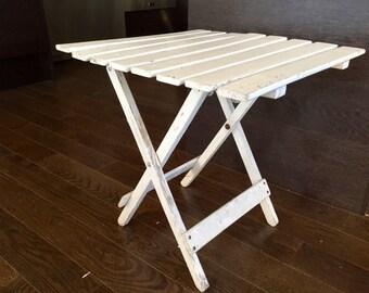 patio folding table etsy. Black Bedroom Furniture Sets. Home Design Ideas