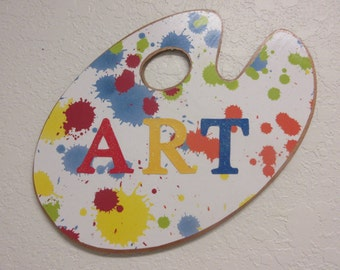 Classroom Decor-Art Room Decor-Art Palette Decor-Craft Room Decor