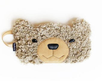 Bear sleep mask: sleep eye mask best mother's day gifts for her unique bridesmaid gifts going away gift for mom