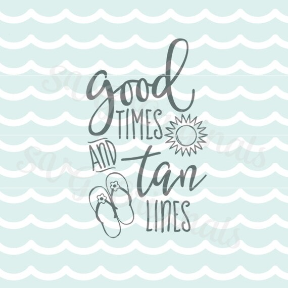 Download Summer Beach SVG File. Cricut Explore and more. Cut or