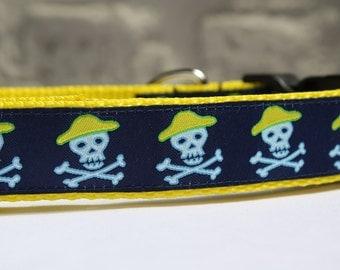 Pirate Dog Collar