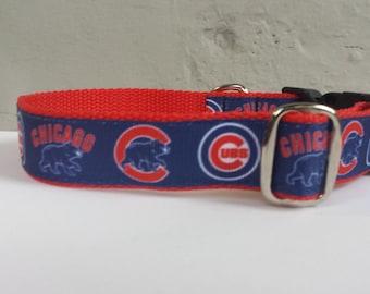 Cubs Dog Collar