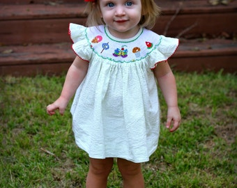 Very Hungry Caterpillar / Butterfly Bishop Top with Bloomers