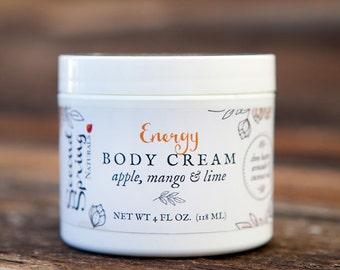 Natural body cream - Energy - Shea Butter Cream - Skincare - Moisturizer