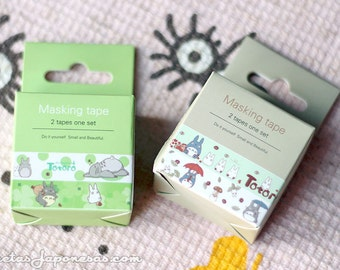 Totoro tape adhesive tape washi DIY