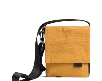 ON SALE 30% Canvas messenger bag man, Small messenger Bag, Vegan crossbody, Canvas crossbody bag, Canvas crossbody Messenger bag - ALEXs