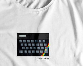 NEW** Retrogaming 8-bit 'ZX Spectrum' T-Shirt