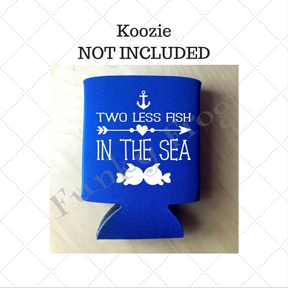 Two less fish in the sea silhouette cut file cricut cut for Two less fish in the sea
