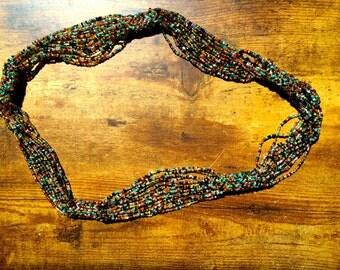 Handmade Beaded Guatemala Necklace