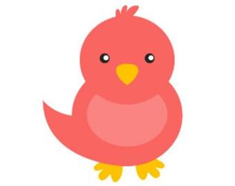 Cute Bird Decal