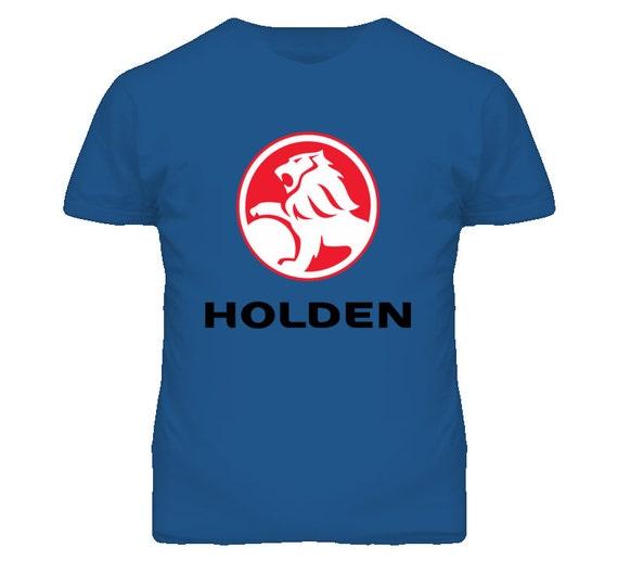 Gm holden australian car maker logo t shirt by newtee on etsy for Logo t shirt maker