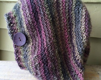 Hat - Crocheted Slouch Beanie