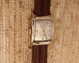 """1940's Gruen """"Veri Thin Precision"""" Diamond Dial"""