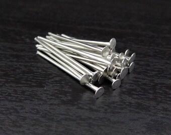 Headpins 20mm – Silver (HP20:SL)